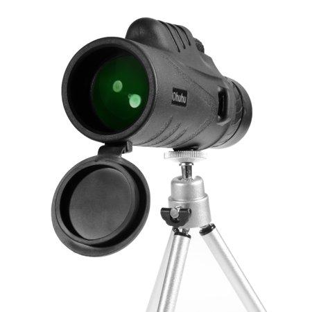 12X52 Mini Waterproof Monocular Telescope Spotting Scope With Tripod thumbnail