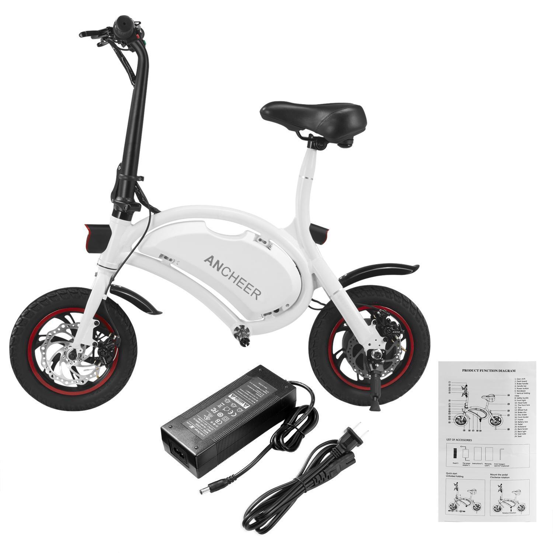 350W 36V Folding Electric Bike Adjustable  EBike Electric...