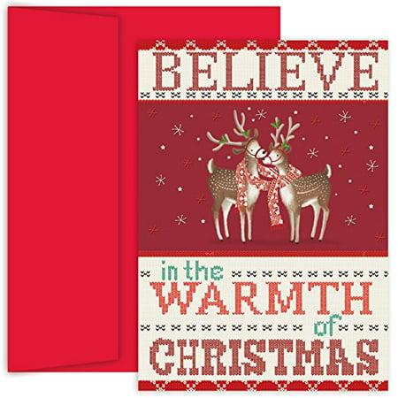Masterpiece Studios Hollyville Cards in Keepsake Box, 18-Count, Warmth Of Christmas (854100) - Walmart.com