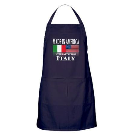 CafePress - Italian Pride - Kitchen Apron with Pockets, Grilling Apron, Baking Apron