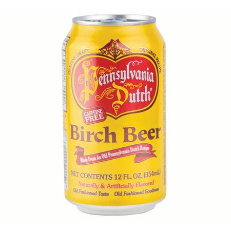Pennsylvania Dutch Birch Beer 12 Oz   24 Cans