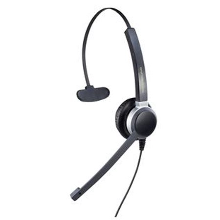 - Addasound Crystal 2801 Headset - Mono - Wired - 150 Hz - 6.80 Khz - Over-the-head - Monaural - Supra-aural (add-crystal2801)
