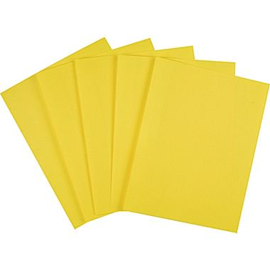 Staples Brights 24 Lb Colored Paper Yellow 500 Ream