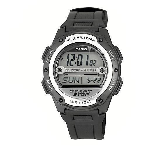 Casio Men's Digital Sport Watch, Black Strap