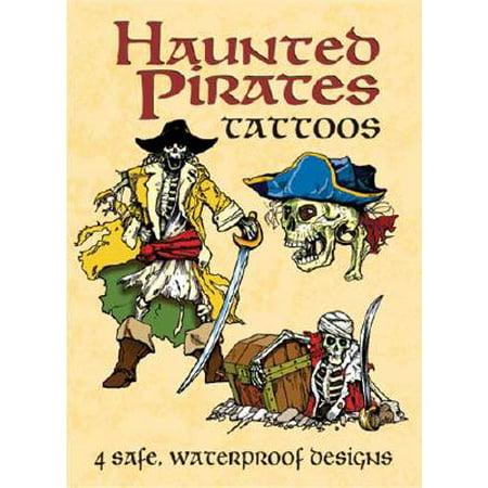 Haunted Pirates Tattoos - Pirate Theme Tattoos