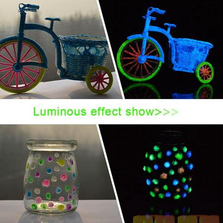 Face Fluorescent  UV Glow Neon Body Paint Pigment 20ml Super Bright  GOGBY