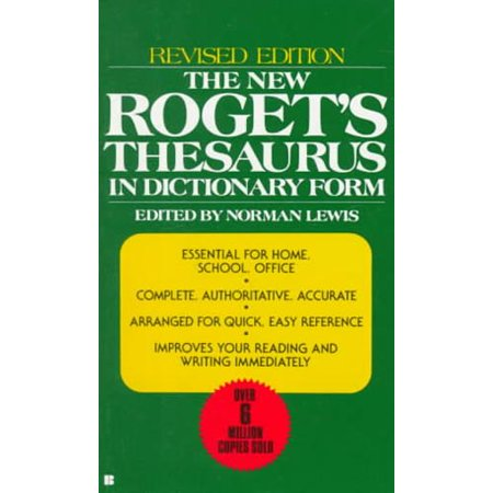 The new roget 39 s thesaurus in dictionary form for Cuisine thesaurus