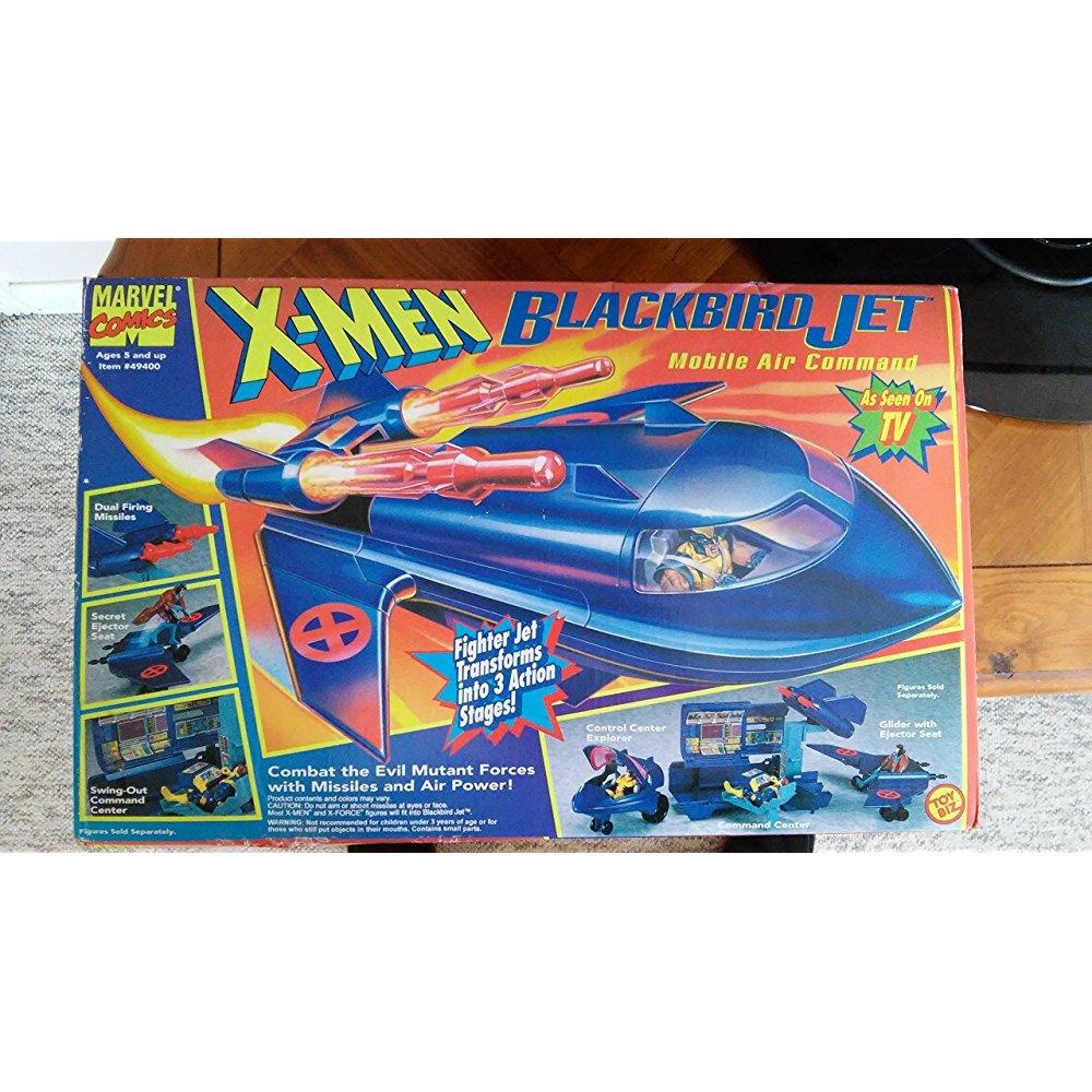 X-Men Blackbird Jet Mobile Air Command Transforming Playset by