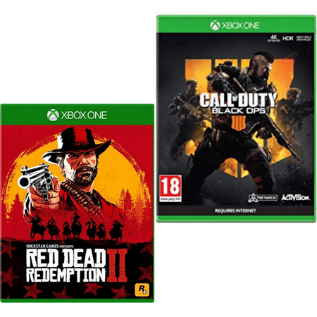 Xbox One Game Red Dead Redemption2 + Call of Duty Black Ops 4 Bonus 2 Hours 2XP: Fight and