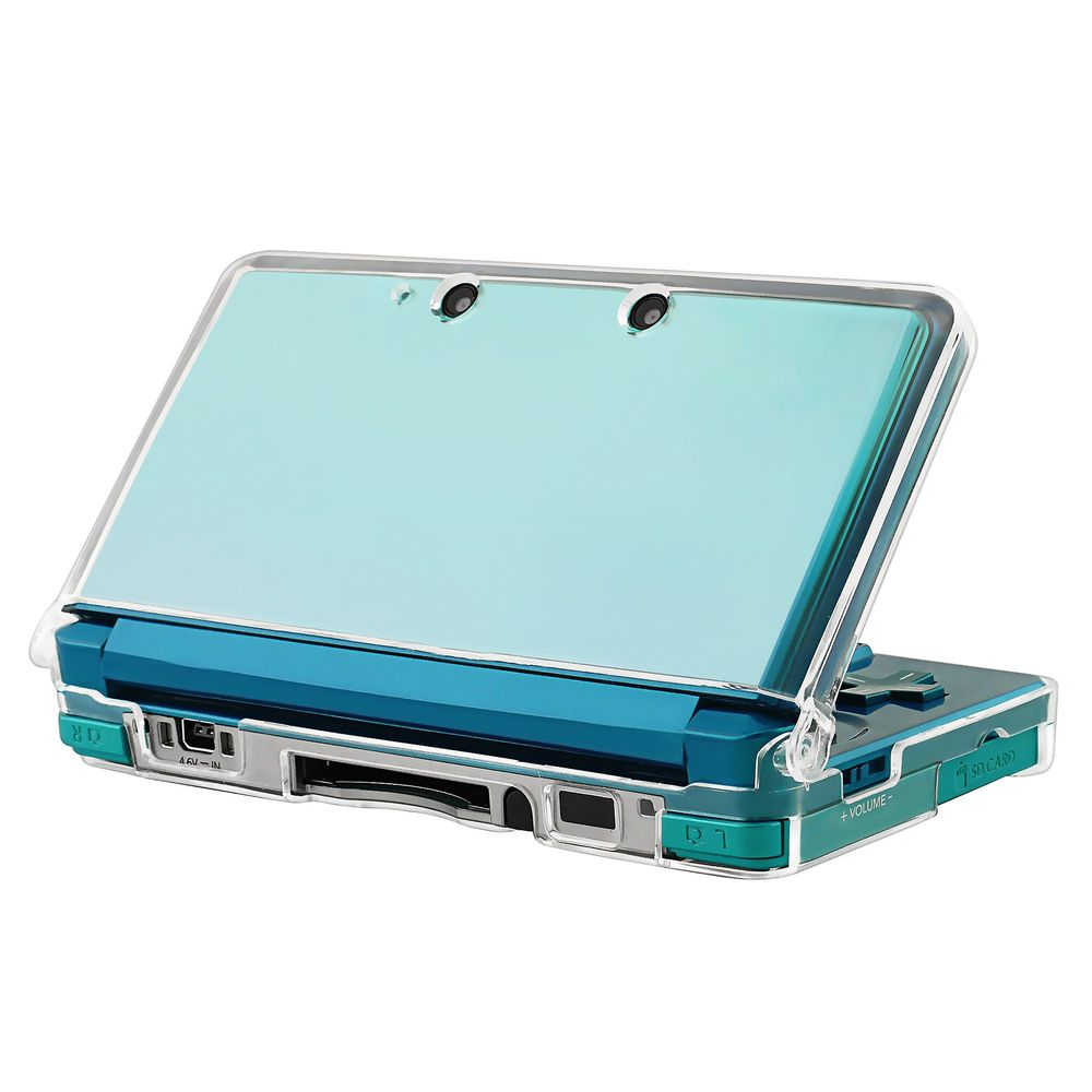 Insten Clear Crystal Hard Case Cover For NINTENDO 3DS
