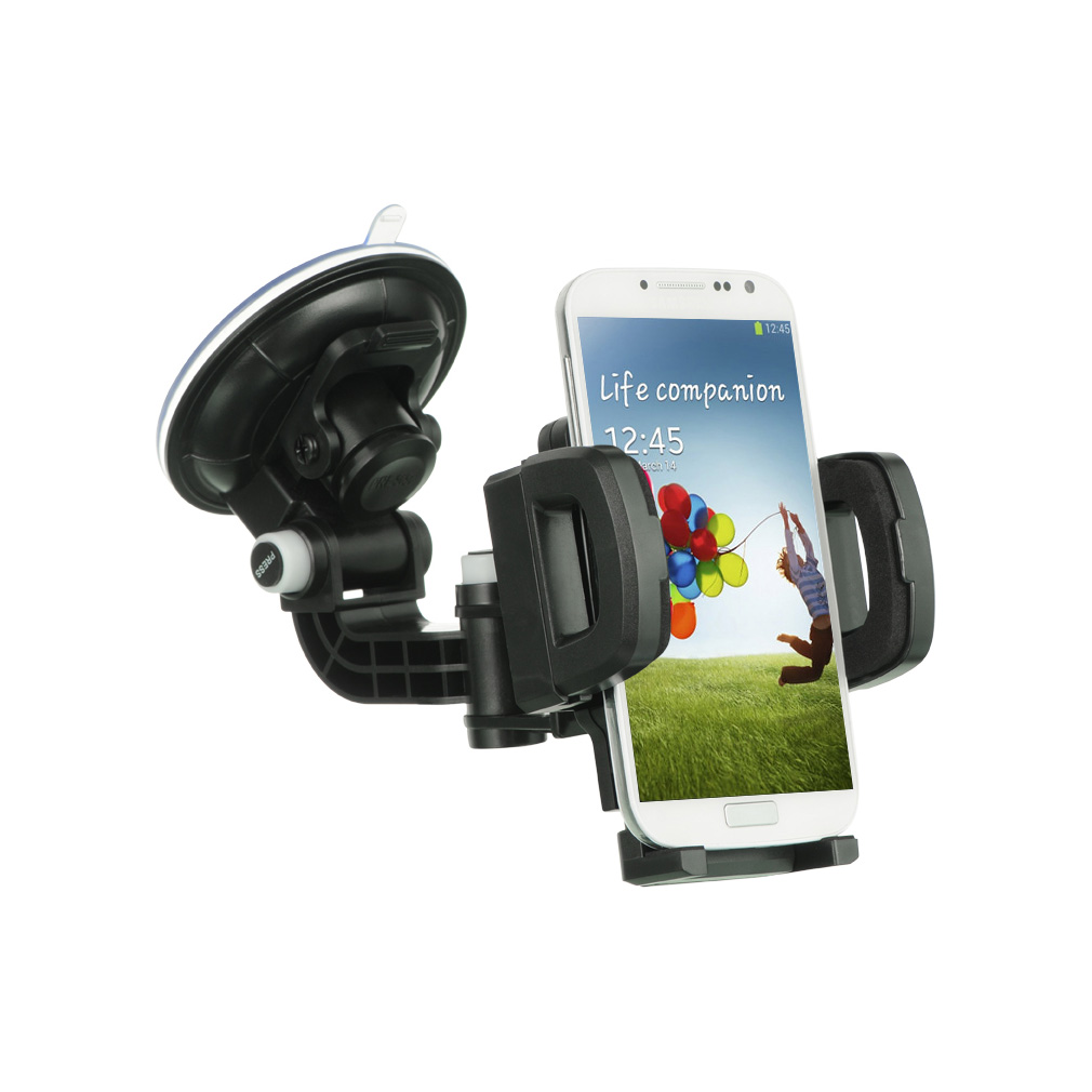Universal Car Mount Holder For Cellphone Mp3 Gps W Quick Lock Release