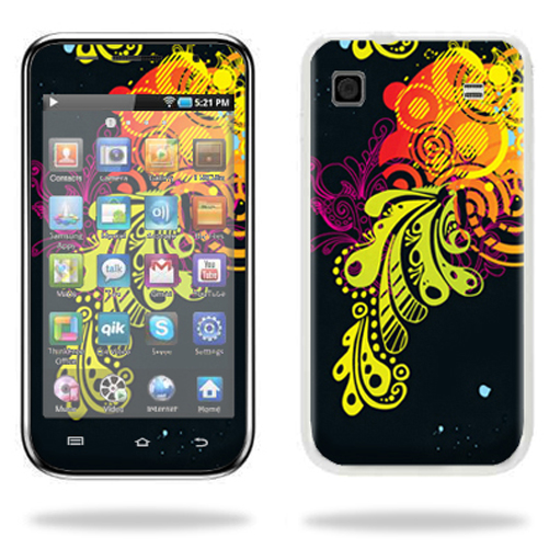 Mightyskins Protective Vinyl Skin Decal Cover for Samsung Galaxy Player 4.0 MP3 Player wrap sticker skins Flourishes