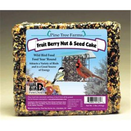Pine Tree Farms Seed Cake Fruit Nut 2. 5 Pounds - 1361