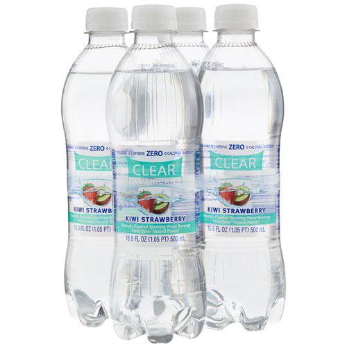 Clear American Kiwi Strawberry Sparkling Water, 16.9 fl oz, 4 pack