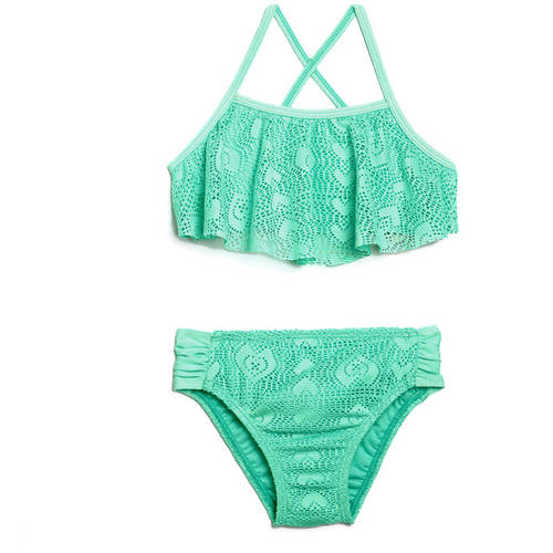 Op Toddler Girl Josie Flutter Top Bikini Swimsuit