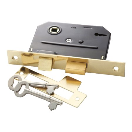 Belwith Products Llc BRS BitKey Mortise Lock 5 Pack ()