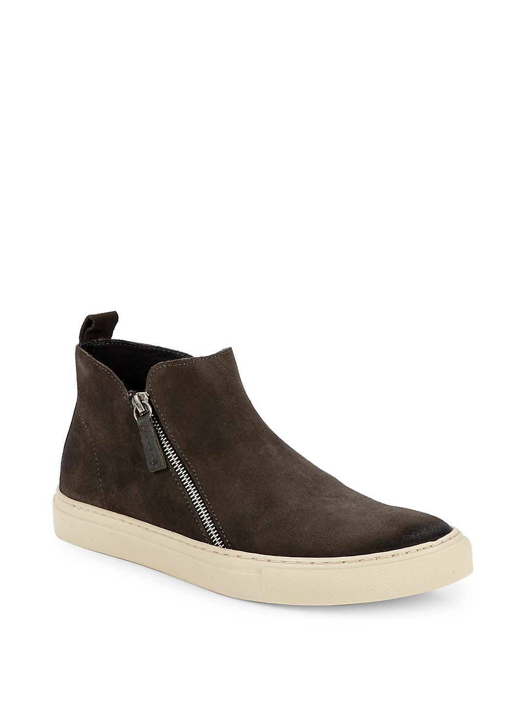 Barlow Suede High-Low Sneakers
