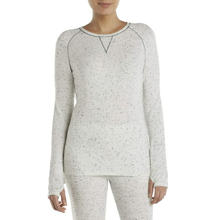 ClimateRight by Cuddl Duds Women's and Women's Plus Comfort Core Warm Long Underwear Top ()