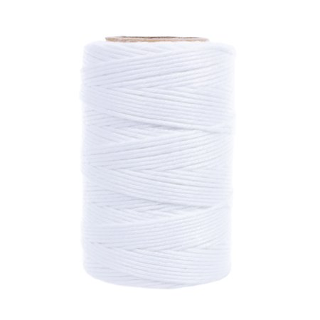 Golberg Value Twine for the Household and Kites - 300 Foot Tube of White String