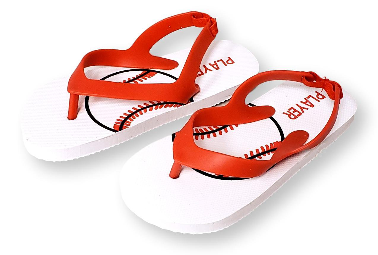 Kids Lightweight Rubber Sole Heel Strap Toddlers Flip Flops Little Big Ryans World Boy/'s Sandals