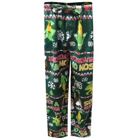 Elf Movie Buddy the Elf Son Of A Nutcracker Lounge Pants - Buddy The Elf Clothes
