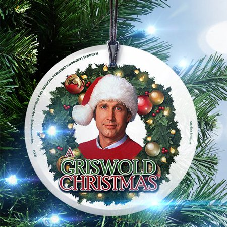 Griswold Christmas.Trend Setters National Lampoon S Christmas Vacation Griswold Christmas Hanging Shaped Ornament