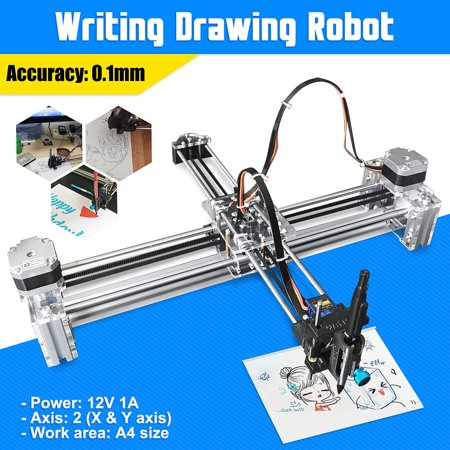X Y Axis Drawing Writing Machine Drawing Writing Robot Auto Support Extended DIY Tools Kits (Without laser
