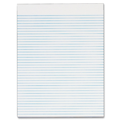 TOPS BUSINESS FORMS Recycled Legal Pad,Narrow Ruled,8-1/2x11,50 Sheets,White