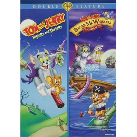 TOM & JERRY-HIJINKS & SHRIEKS/SHIVER ME WHISKERS (DVD/2PK/B2B/FF) (DVD) - Tom And Jerry Halloween Hijinks