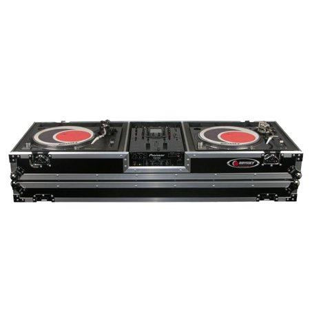 Odyssey Cases FZDJ10W New DJ Coffin Holds 10