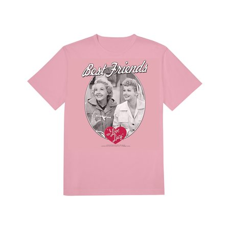 I Love Lucy Best Friends Ethel and Lucy Pink