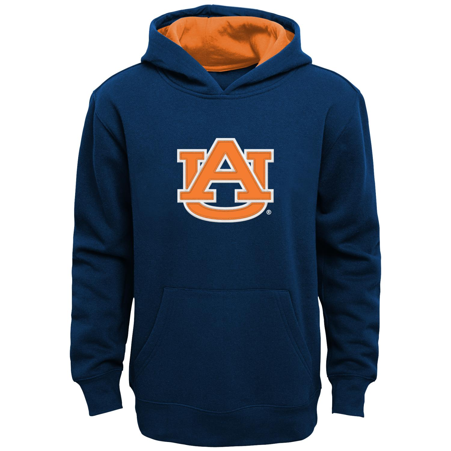 "Auburn Tigers Youth NCAA ""Primary"" Pullover Hooded Sweatshirt"