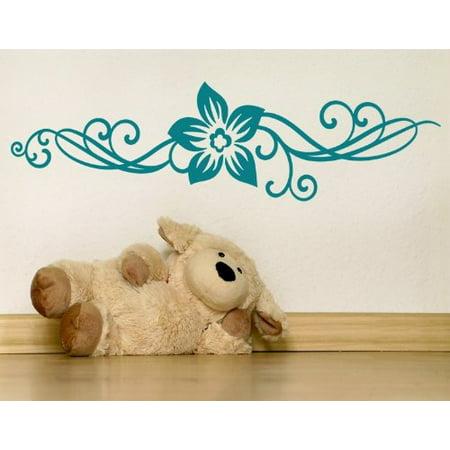 Floral Ornament II Wall Decal wall decal sticker mural vinyl art home
