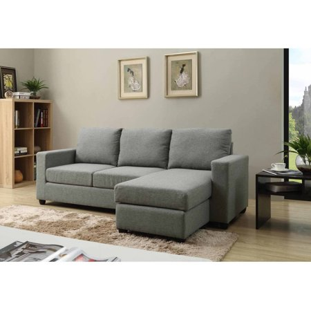 Nathaniel Home Alexandra Small Space Convertible Sectional, Multiple