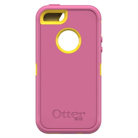 sale retailer 0b1e7 9536c OtterBox Defender Series Multi Layer Protective Case With Screen Protector  for iPhone 5s, iPhone 5, iPhone SE, (No Holster Clip) Non-Retail Packaging  ...