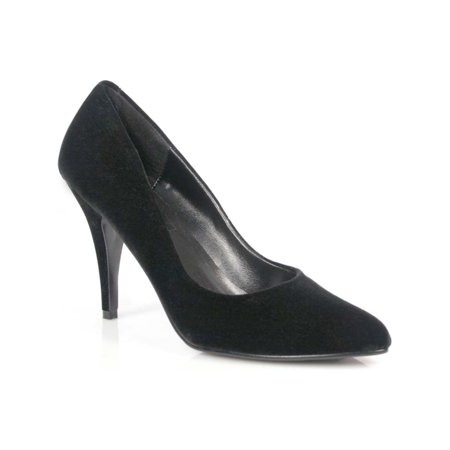 4 Inch Womens Sexy Shoes Wear To Work Shoes Classic Pump Shoes Black