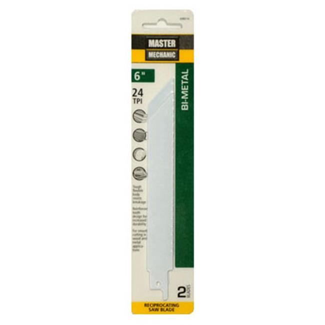 Disston 698516 6 in. Master Mechanic Saw Blade, 24 Tooth - Pack of 2 - image 1 de 1