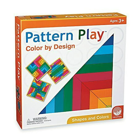 Pattern Play: Bright Colors by MindWare (Pattern Play)
