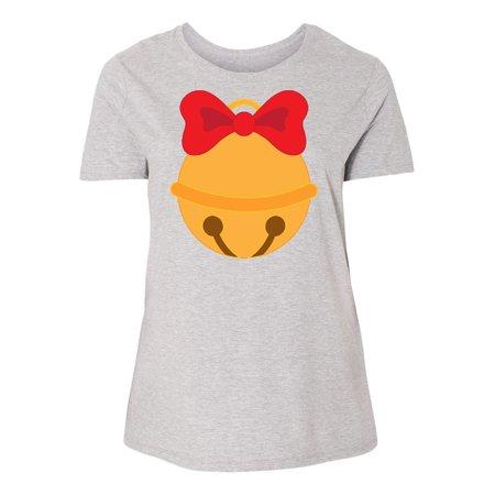 18e07a8c2db Inktastic - Christmas Jingle Bell Women s Plus Size T-Shirt Holiday Cute  Santa My - Walmart.com
