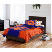 NCAA Clemson Tigers Bed in a Bag Complete Bedding Set
