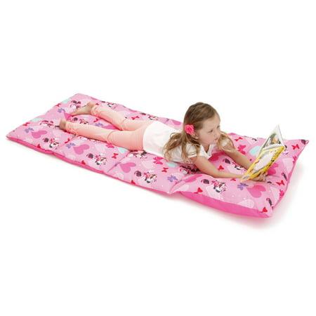 Kids Nap Mats - Disney Minnie Deluxe Easy Fold Nap Mat
