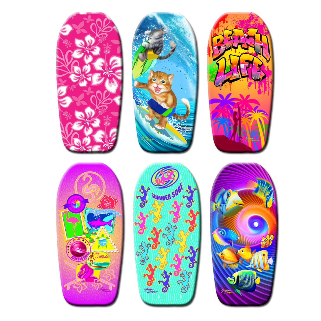 Girls Body Board