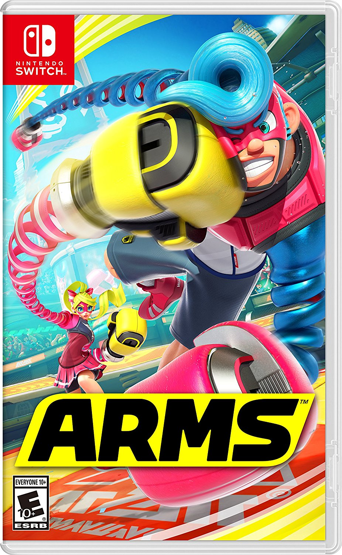 ARMS, Nintendo, Nintendo Switch, 045496590529
