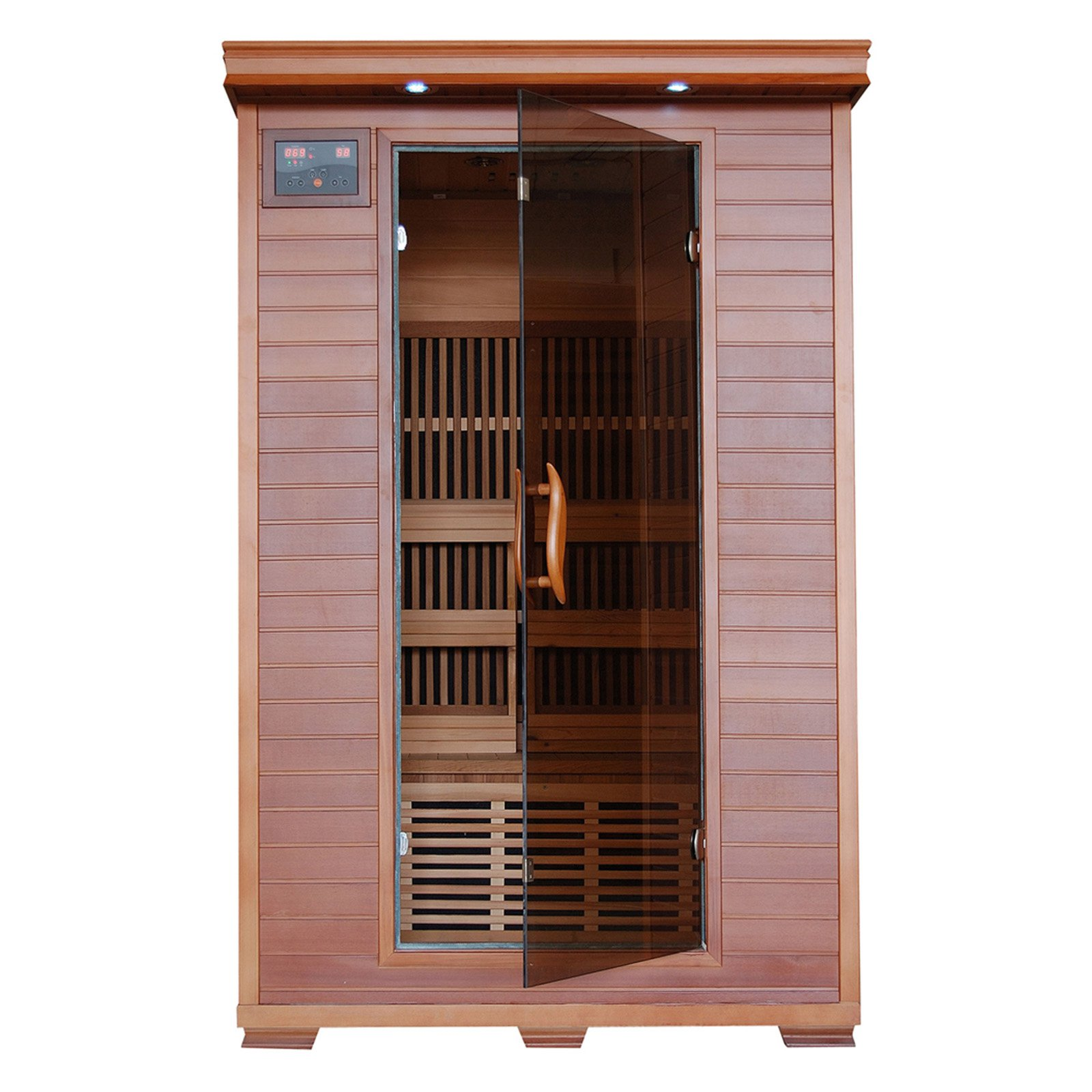 Radiant Sauna 2 Person Cedar Deluxe Infrared Sauna by RADIANT