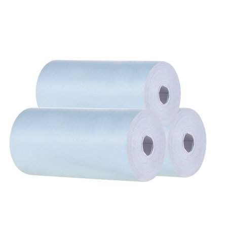 Color Thermal Paper Roll 57*30mm (2.17*1.18in) Bill Receipt Photo Paper Clear Printing for PeriPage A6 Pocket Thermal Printer for PAPERANG P1/P2 Mini Photo Printer, 3