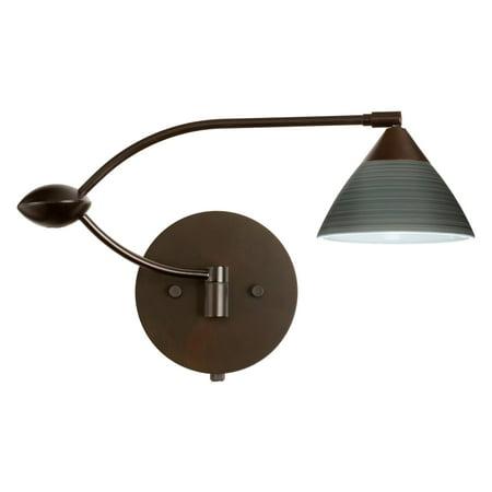 Besa 1WU-1743TN Titan Domi Wall Light (Besa Domi Wall Lamps)