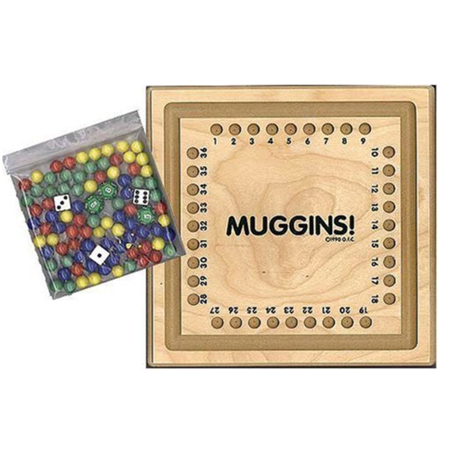 Wooden Math Game, Muggins and Knock-Out