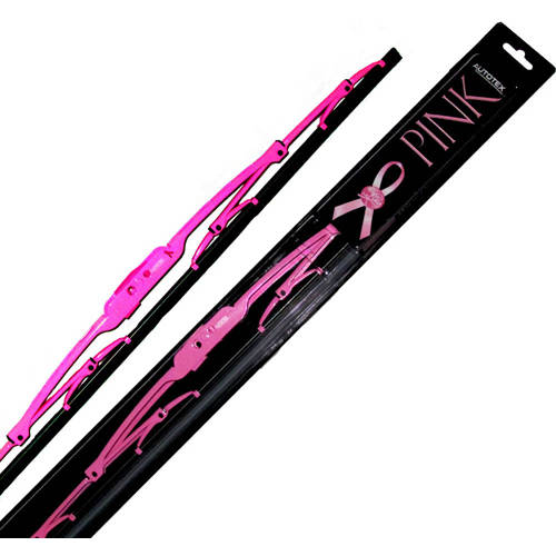 AutoTex Pink Plus Universal Metal Wiper Blade