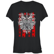 Aztlan Juniors' Red Forever Stained T-Shirt