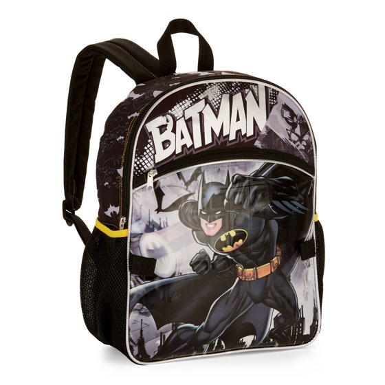 7c7a96d70631 Batman 5-Piece Backpack Set With Lunch Bag